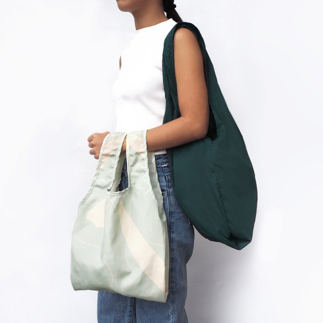 Lush Green Reusable Bag