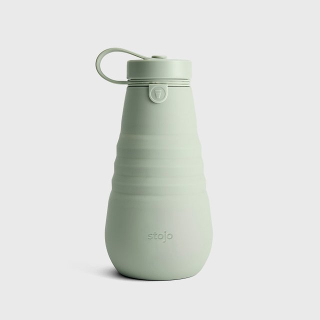 Stojo Collapsible Bottle 20oz / 590ml (Sage)