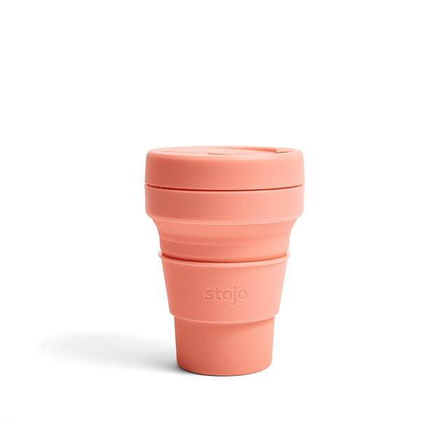 Stojo Collapsible Cup Pocket 12oz/350ml (Apricot)