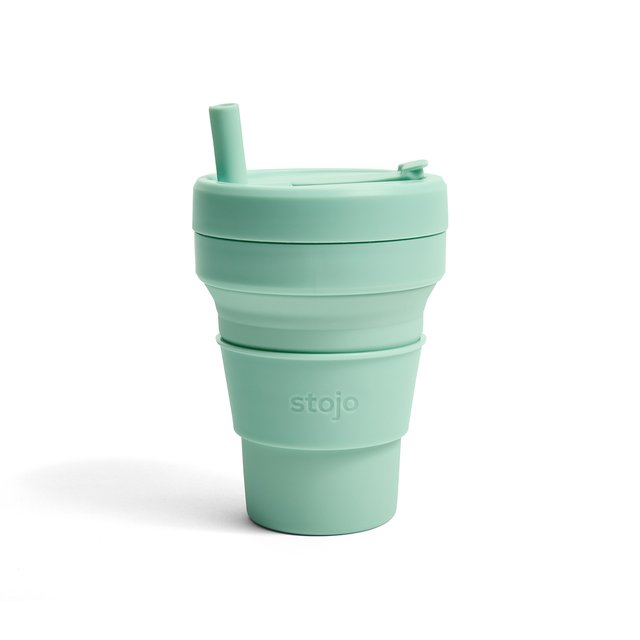 Stojo Collapsible Cup Biggie 16oz/470ml (Seafoam)