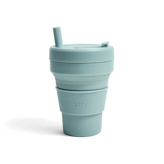 Stojo Collapsible Cup Biggie 16oz/470ml (Aquamarine)