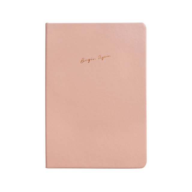 Begin Again A5 Notebook