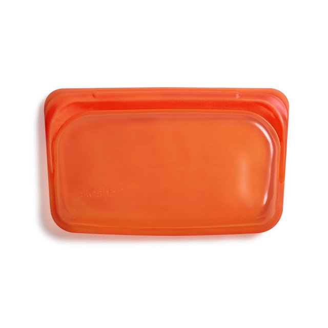 Stasher Reusable Silicone Snack Bag (Citrus)