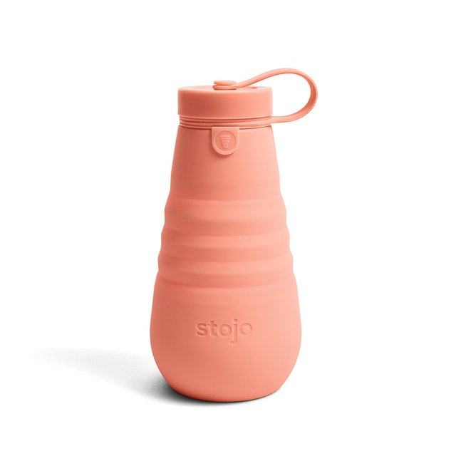 Stojo Collapsible Bottle 20oz / 590ml (Apricot)