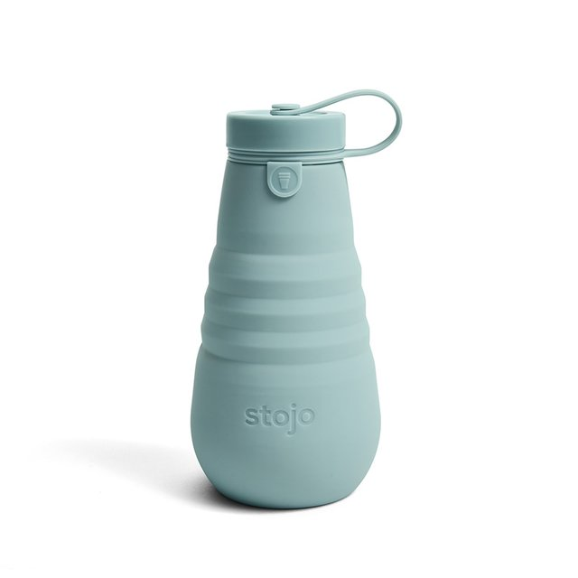 Stojo Collapsible Bottle 20oz / 590ml (Aquamarine)
