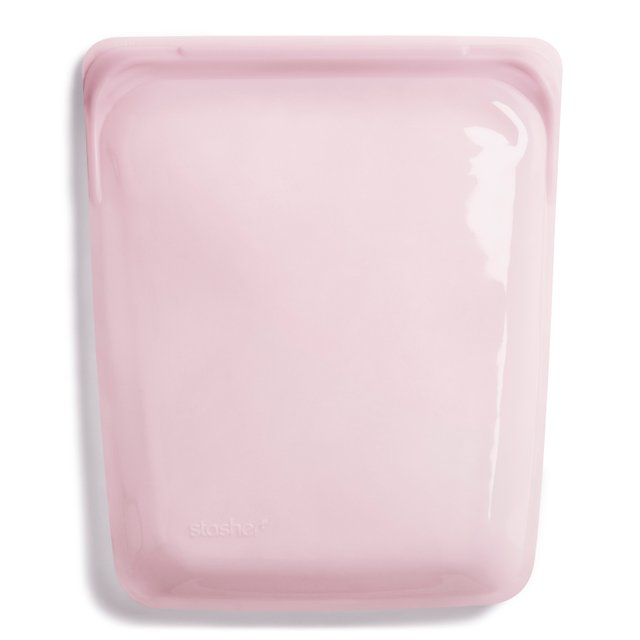 [Pre-order] Stasher Reusable Silicone Half Gallon Bag (Rose Quartz)