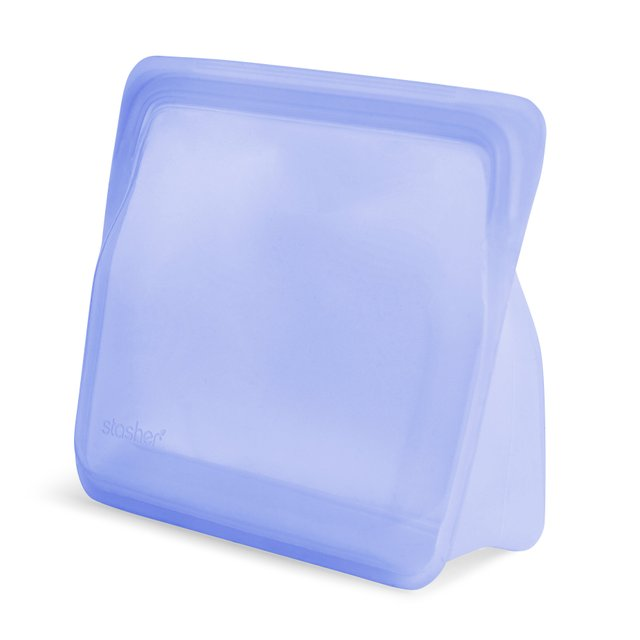 [Pre-order] Stasher Reusable Silicone Stand-Up Bag (Amethyst)