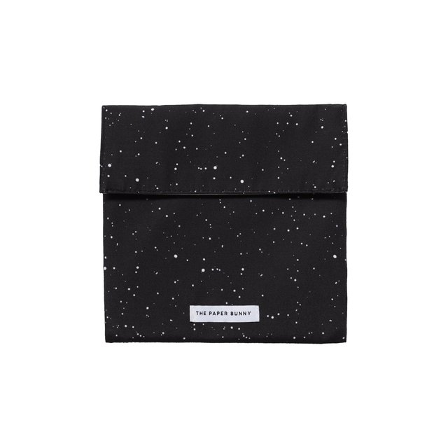 Cosmic Black Sandwich Bag